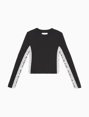 Calvin Klein Slim Fit Side Logo Sweater