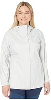 The North Face Plus Size Venture 2 Jacket (Tin Grey) Women's Clothing