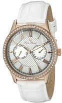 Lucien Piccard Women's LP-10334-RG-02-WHT Brela Stainless Steel Watch