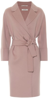 S Max Mara Arona belted virgin-wool coat