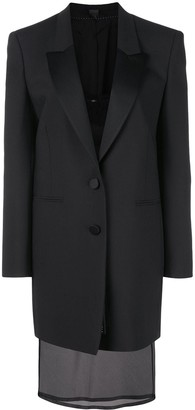 Neil Barrett Tuxedo Jacket Dress