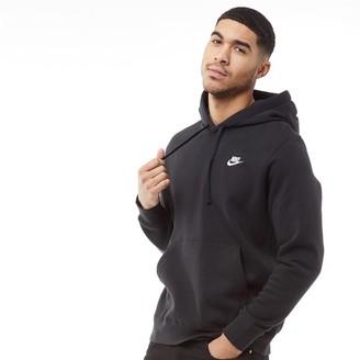 Nike Mens Sportswear Club Fleece Hoodie Black