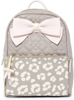 Betsey Johnson Cheetah Zip-Off Pouch Backpack