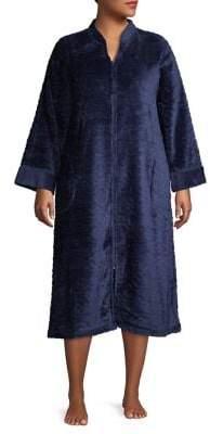 Miss Elaine Plus Tassel Zip Robe