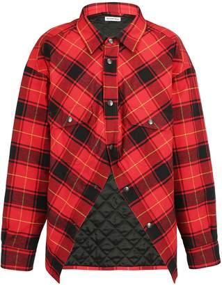Balenciaga Tartan Shirt