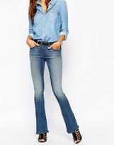 G Star G-Star Lynn Zip High Flare Jean