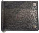 Valentino Garavani Camouflage Textured Leather Wallet