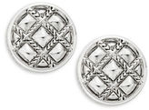 House Of Harlow Phoebe Caged Button Clip-On Earrings