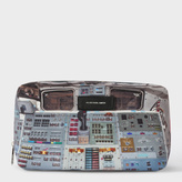 Paul Smith Men's 'Space Shuttle' Print Wash Bag