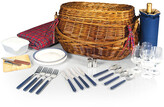 Picnic Time Highlander Willow Basket For 4