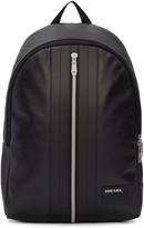 Diesel Black L-back Round Backpack