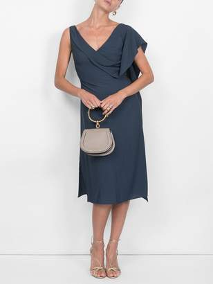 Sies Marjan etta drape front dress