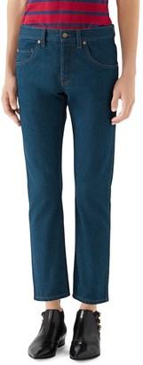 Gucci x Disney Stonewash Ankle Jeans