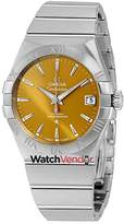 Omega Constellation Co-Axial Stainless Steel Men's Watch 123.10.38.21.10.001.