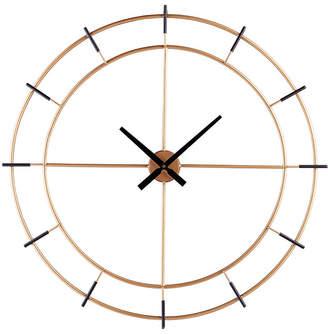 Southern Enterprises Desmond Contemporary Decorative Wall Clock