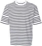 Sacai short sleeve striped T-shirt