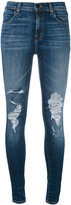 J Brand Maria Decoy destroyed jeans - women - Cotton/Polyurethane - 26