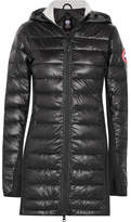 Canada Goose Hybridge Lite Hooded Quilted Shell Down Coat - Black