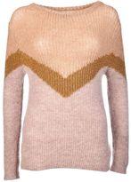 Chiara Bertani Color Block Sweater