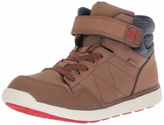Stride Rite Unisex-Kid's Saul Boy's and Girl's Machine Washable Leather Sneaker Fashion Boot