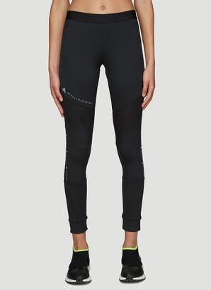 adidas by Stella McCartney Mesh Panel Running Leggings