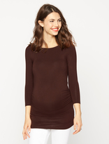 A Pea in the Pod Ruched Maternity Top