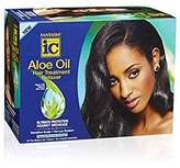 FANTASIA Ic Aloe Oil Hair Treatment Regular/Normal Strength Relaxer Kit