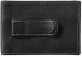 Johnston & Murphy Men's Leather Money Clip Wallet - Black