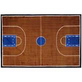 Asstd National Brand Basketball Court-Supreme Rectangular Indoor Rugs