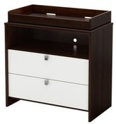 South Shore Cookie Collection Changing Table - Mocha