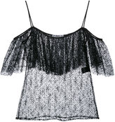 Racil - Pretty Things lace cami top - women - Polyamide/Acetate - 34
