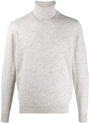 Chalayan signature split neck sweater