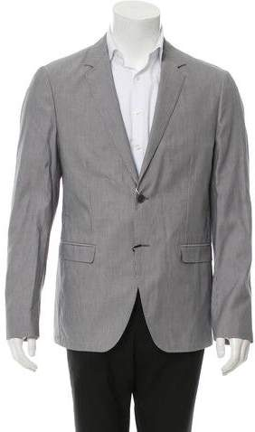Calvin Klein Collection Two-Button Pinstripe Blazer w/ Tags