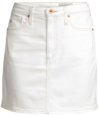 AG Jeans Denim Mini Skirt