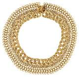 Elizabeth Cole Chain-Link Collar Necklace