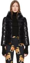 Herno Black Short Glossy Jacket