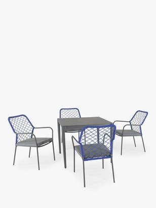 Kettler Nimes 4-Seater Garden Dining Table & Chairs Set