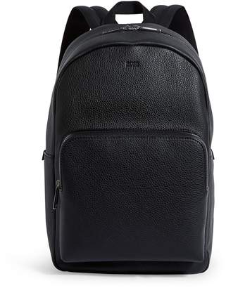 BOSS Leather Backpack