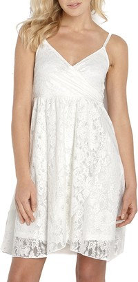 Topsanddresses Ladies Off-White Ivory Lace Strappy Dress in UK Size 12 EU 40