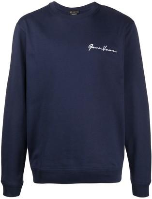 Versace GV logo sweatshirt