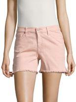 Sanctuary Solid Fringed Shorts
