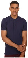 Scotch & Soda Classic Garment Dyed Polo in Cotton Pique Quality