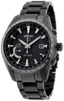 Seiko Astron SSE089 Titanium with Black Dial 45mm Mens Watch