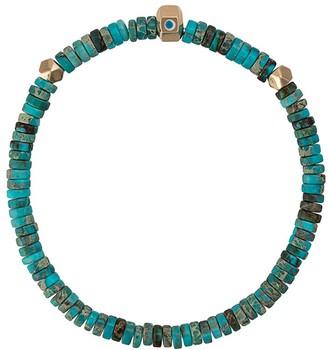 Luis Morais star enameled octagon bracelet