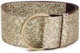 Antonio Marras wide glitter buckle belt