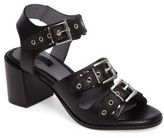 Topshop Women's Veronica Studded Buckle Sandal