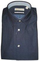Michael Kors Men's Slim-Fit Dot Print Dress Shirt