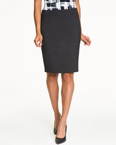 Le Château Double Weave Knee Length Skirt