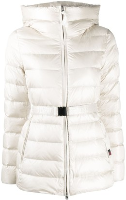 Woolrich Belted Padded Jacket