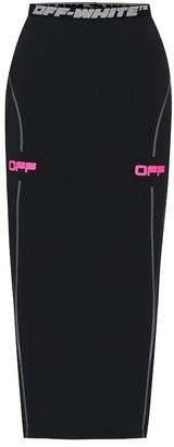 Off-White Logo performance skirt